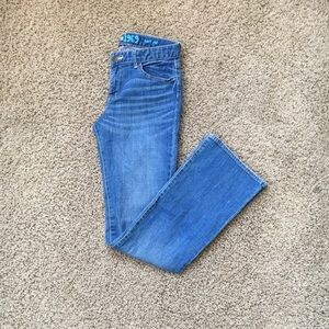 Girls bootcut jeans